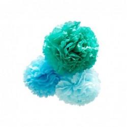 Décoration suspendue – POM Petit – Bleue