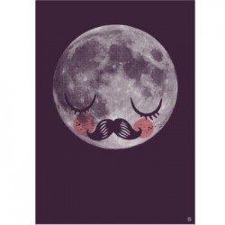 Affiche – Lune