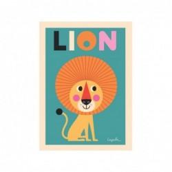 Affiche – Lion