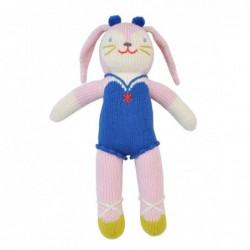 Petite peluche en tricot – Mirabelle la Lapine
