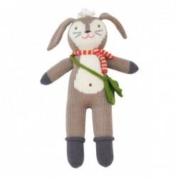 Petite peluche en tricot – Pierre le Lapin