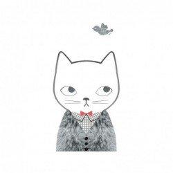 Affiche – Chat et fourrure