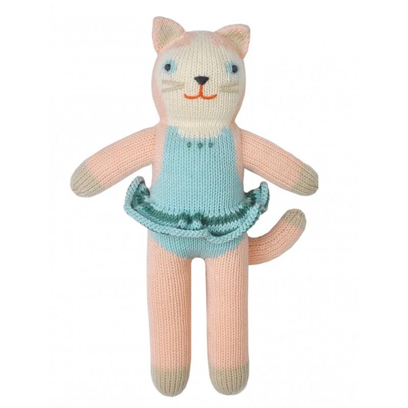 Petite peluche en tricot – Splash la Chatte