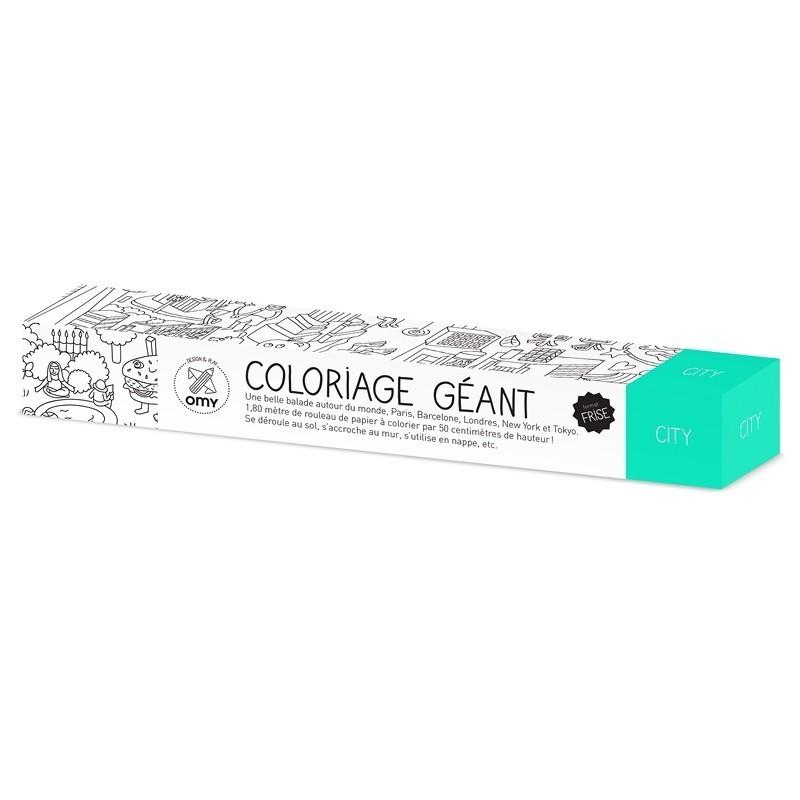 Omy Rouleau De Coloriage Geant City