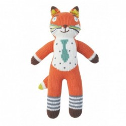 Petite peluche en tricot – Socks le Renard