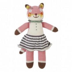 Petite peluche en tricot – Suzette la Renarde