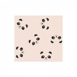 Frise adhésive – Panda – Rose