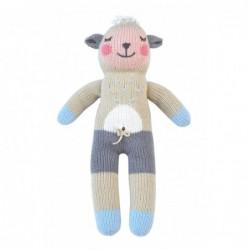 Petite peluche en tricot – Wooly le Mouton