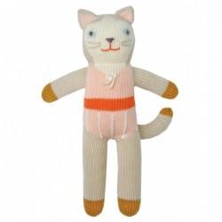 Petite peluche en tricot – Colette la Chatte