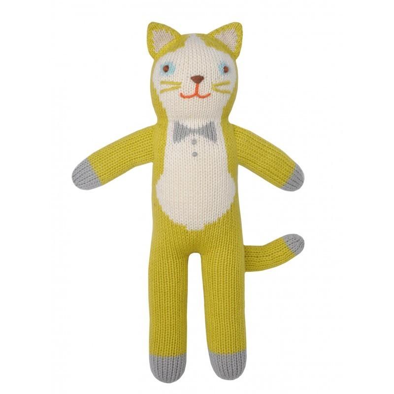 Petite peluche en tricot – Théo le Chat