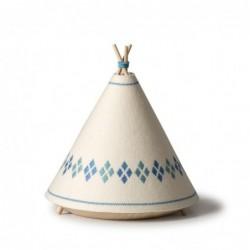Lampe de table – Tipi – Jaune / Rouge / Bleu