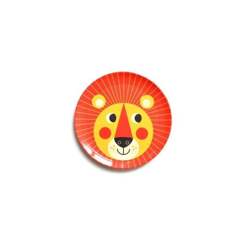 Assiette Lion