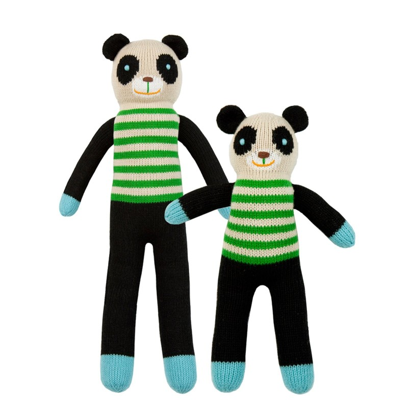 Petite peluche en tricot – Ours Bamboo
