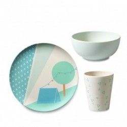 Ensemble de vaisselle – Tente