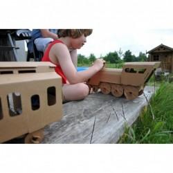 Jouet à assembler – Locomotive