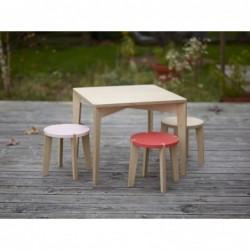 Table carrée – Largeur 58 cm – Hauteur 48 cm