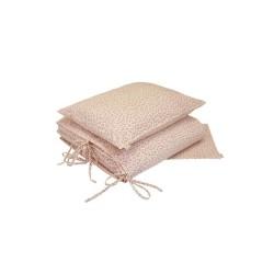 Parure de lit (Housse 100 x 140 cm + Taie) – Daisy rose/crème