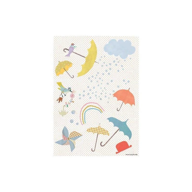 Sticker – Les parapluies