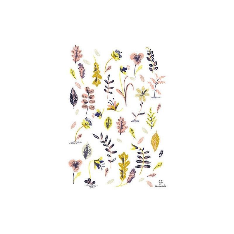 Affiche – Fleurs