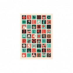 Affiche – Lettres A-Z