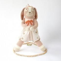 Petite peluche en tricot – Belle