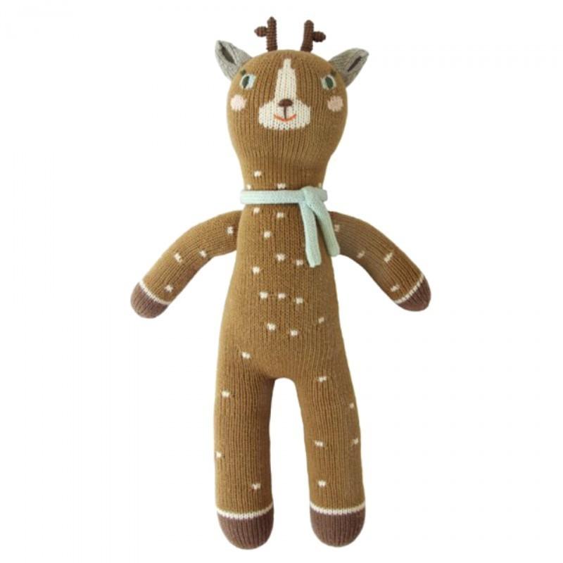 Petite peluche en tricot – Jasper le cerf