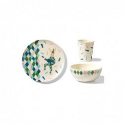 Ensemble de vaisselle – Lapin de cirque