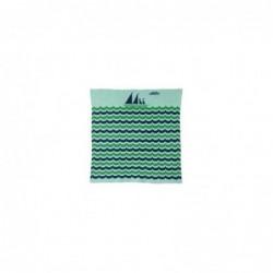 Couverture – Mini bateau – Vert/Bleu