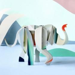 Jouet 3D à assembler – Eléphant