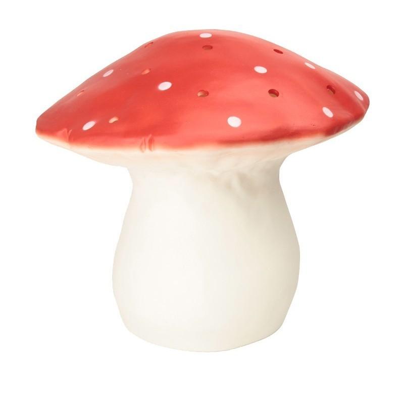 Veilleuse XL – Champignon – Rouge