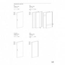 Armoire 2-3 portes battantes