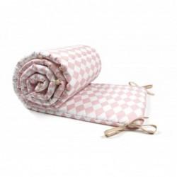 Tour de lit – Constantinople – Losanges roses