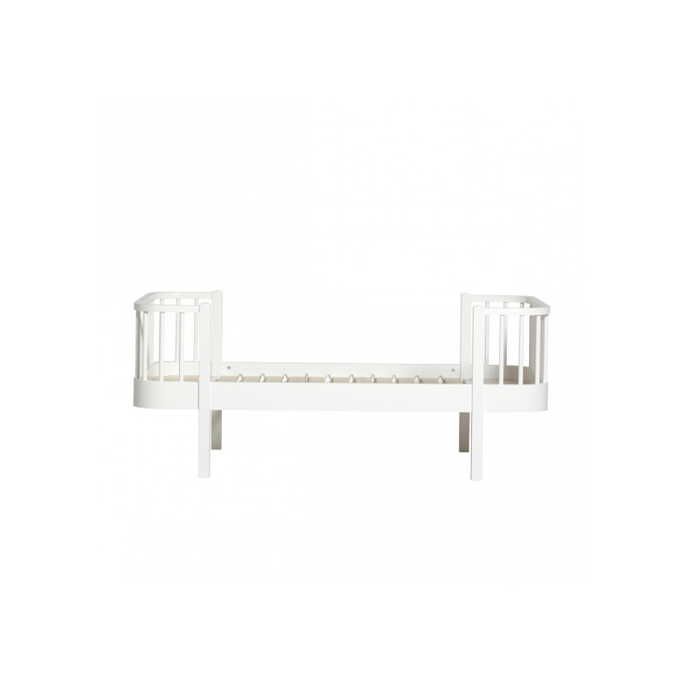 Lit junior – Wood Collection – Blanc