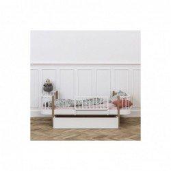 Lit junior – Wood Collection – Blanc (Large)