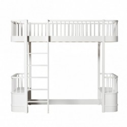 Lit mezzanine – Wood Collection – Blanc