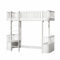 Lit mezzanine – Wood Collection – Blanc
