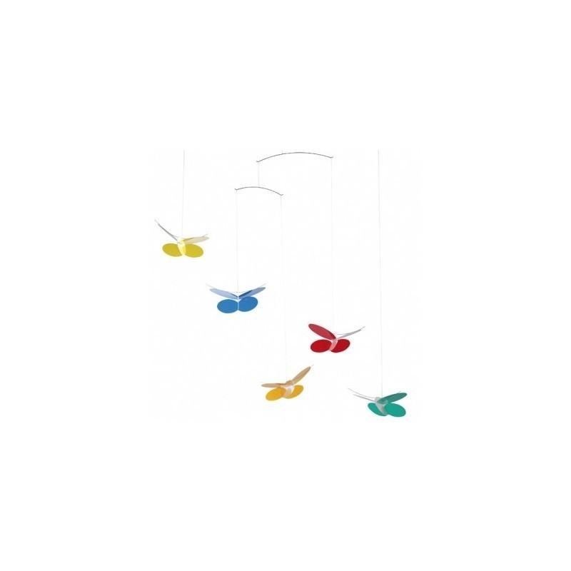 Mobile suspendu – Papillons