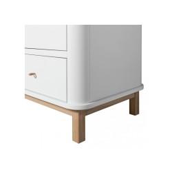 Armoire – Wood Collection – Blanc/chêne (2 portes)