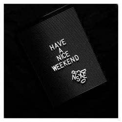 Tableau Noir Vintage – Lettres Blanches