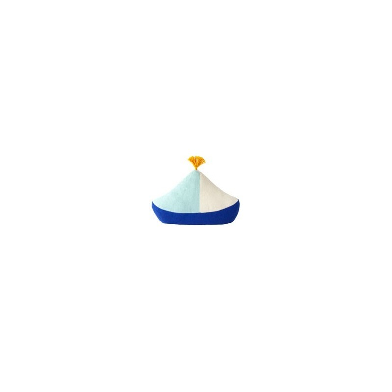 Coussin – bateau – bleu