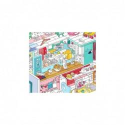 Affiche à colorier – Maison