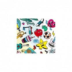 Affiche à colorier – Pop