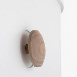 Armoire – Wood Collection – Blanc/chêne (3 portes)
