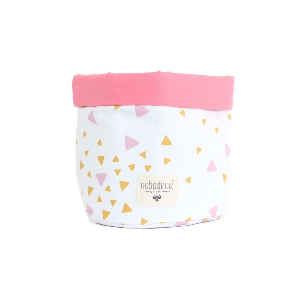 Panier – Mambo – Confettis roses et miel (M)
