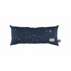 Coussin Hardy Long – Bleu nuit étoilé