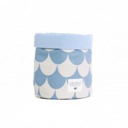 Panier – Mambo – Ecailles bleues (M)