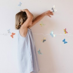 Sticker – Frise Papillons