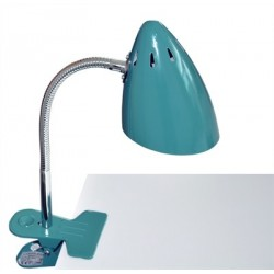 Lampe clip – Pétrole