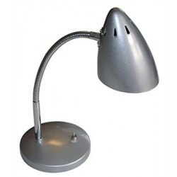 Lampe de table – Gris Métallique
