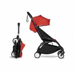 Poussette YOYO2 Babyzen complète – Rouge, châssis noir